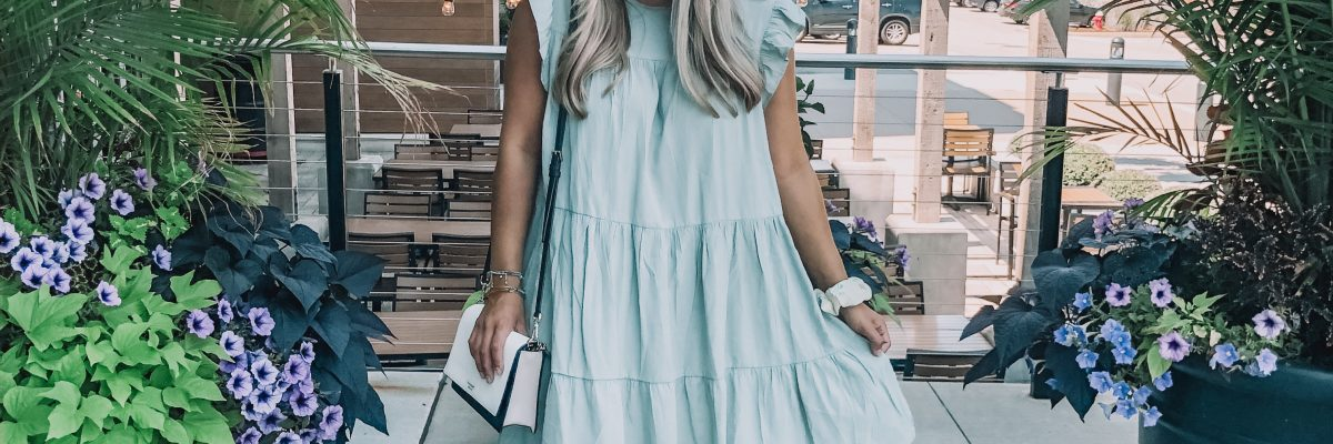 Shopping in a Babydoll Dress
