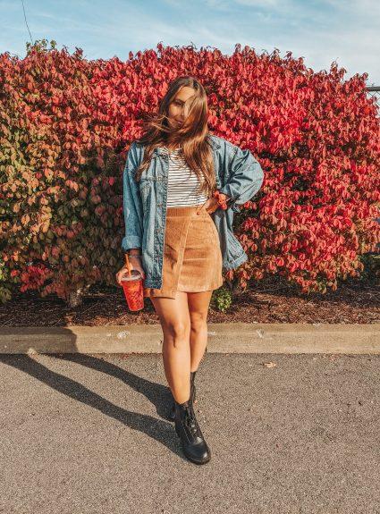 A Perfect Fall Skirt | LexTober