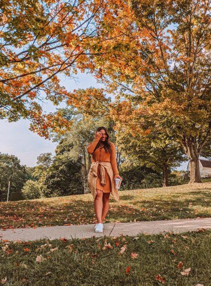 A Mustard Dress| LexTober